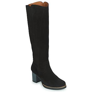 Zapatos Mujer Botas urbanas Casual Attitude HAPI Negro
