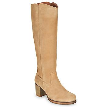 Zapatos Mujer Botas urbanas Casual Attitude PASTILLE Beige