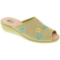 Zapatos Mujer Pantuflas Calzamur ZAPATILLAS SRA   PIEDRA Gris