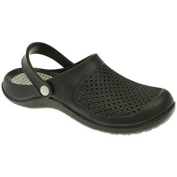Zapatos Hombre Zuecos (Clogs) Kelara ZUECO HOMBRE  NEGRO Negro