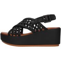 Zapatos Mujer Sandalias Inuovo 123064 NEGRO
