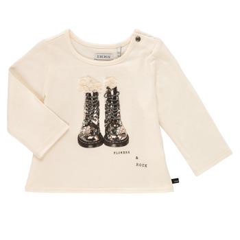 textil Niña Camisetas manga larga Ikks PAON Blanco