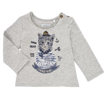 textil Niña Camisetas manga larga Ikks PERSAN Gris