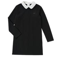 textil Niña Vestidos cortos Ikks LIN Negro