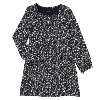 textil Niña Vestidos cortos Ikks MALACHITE Negro
