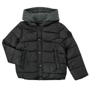 textil Niño Plumas Ikks CORAIL Negro