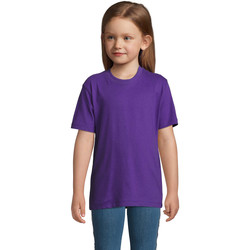 textil Niños Camisetas manga corta Sols Camista infantil color Morado Violeta