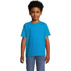 textil Niños Camisetas manga corta Sols Camista infantil color Aqua Azul