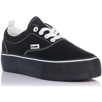 Zapatos Mujer Zapatillas bajas D.Franklin 20007 NEGRO-NEGRO