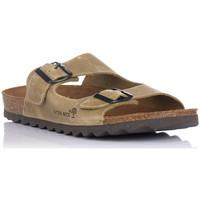 Zapatos Hombre Zuecos (Mules) Interbios 9560 KAKI