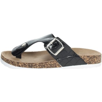 Zapatos Mujer Chanclas Laura Biagiotti 6858 Negro