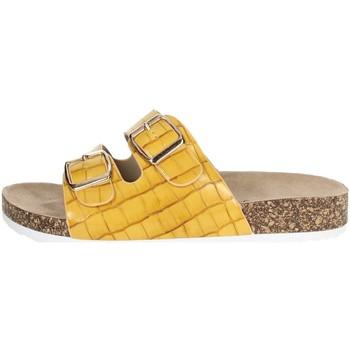 Zapatos Mujer Zuecos (Mules) Laura Biagiotti 6856 Mostaza