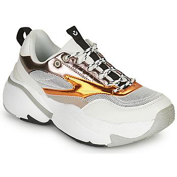 Zapatos Mujer Zapatillas bajas Victoria  Blanco / Gris