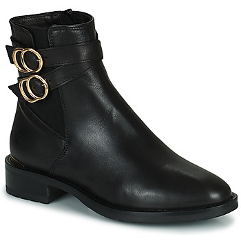 Zapatos Mujer Botas de caña baja Minelli LISA Negro