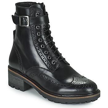 Zapatos Mujer Botas de caña baja Minelli ALOILA Negro