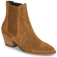 Zapatos Mujer Botines Minelli VELIA Marrón
