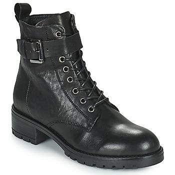 Zapatos Mujer Botas de caña baja Minelli NENITA Negro
