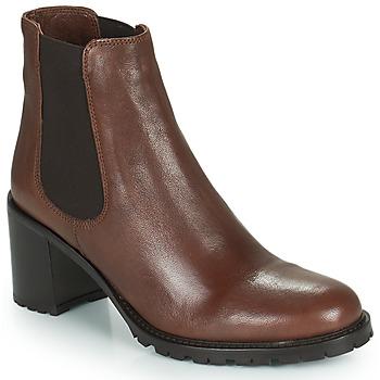 Zapatos Mujer Botines Minelli PETRINA Marrón