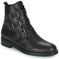 Zapatos Mujer Botas de caña baja Minelli FRANILLA Negro