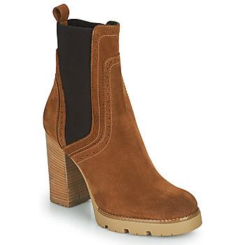 Zapatos Mujer Botines Minelli VANILLA Marrón