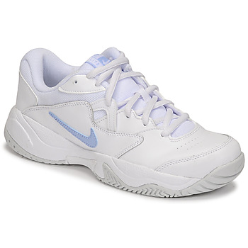 Zapatos Mujer Zapatillas bajas Nike WMNS NIKE COURT LITE 2 Blanco / Plateado
