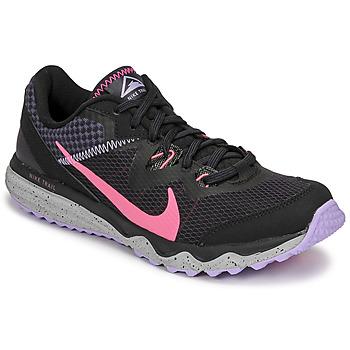 Zapatos Mujer Running / trail Nike WMNS NIKE JUNIPER TRAIL Negro / Rosa