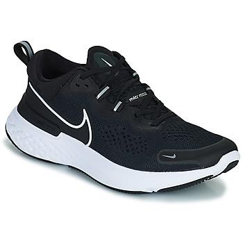 Zapatos Hombre Running / trail Nike NIKE REACT MILER 2 Negro / Blanco