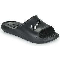 Zapatos Mujer Chanclas Nike W NIKE VICTORI ONE SHWER SLIDE Negro / Blanco