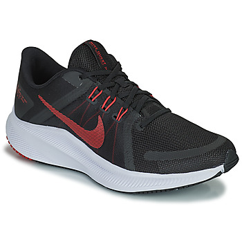 Zapatos Hombre Running / trail Nike NIKE QUEST 4 Negro / Rojo