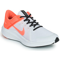 Zapatos Mujer Running / trail Nike WMNS NIKE QUEST 4 Blanco / Rosa