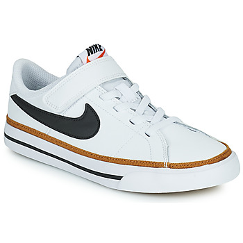 Zapatos Niños Zapatillas bajas Nike NIKE COURT LEGACY (PSV) Blanco / Negro