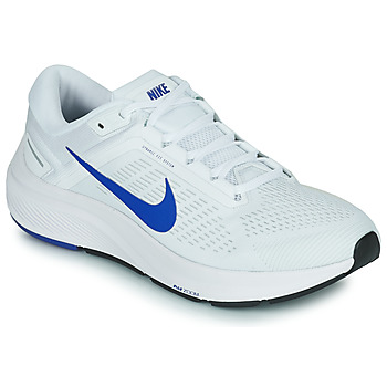 Zapatos Hombre Running / trail Nike NIKE AIR ZOOM STRUCTURE 24 Blanco / Azul