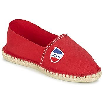 Zapatos Hombre Alpargatas 1789 Cala UNIE ROUGE Rojo