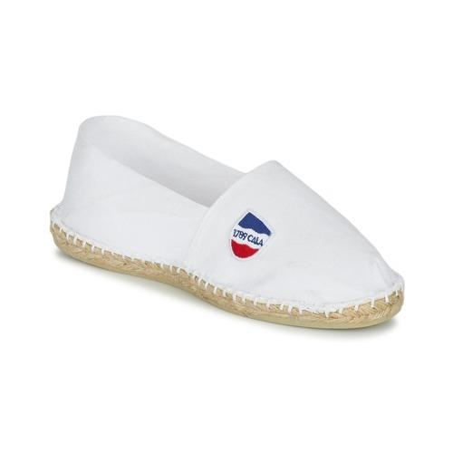 Zapatos Alpargatas 1789 Cala UNIE BLANC Blanco