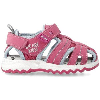Zapatos Niño Sandalias de deporte Garvalin CANGREJERAS ROSA Rosa