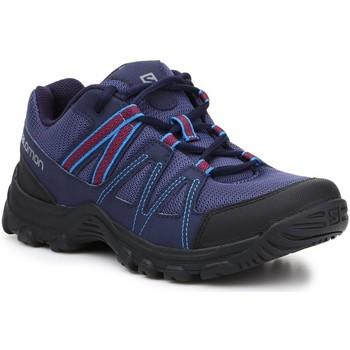 Zapatos Mujer Senderismo Salomon Deepstone W 408741 24 V0 azul marino