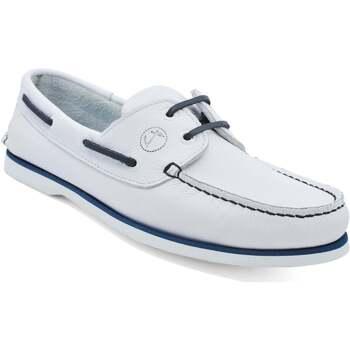 Zapatos Hombre Zapatos náuticos Seajure Náuticos Sauvage Blanco