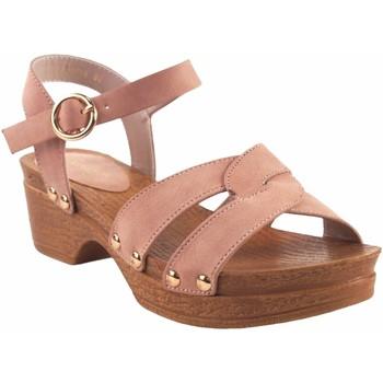 Zapatos Niña Sandalias Bubble Bobble Sandalia niña  a3014 rosa Rosa