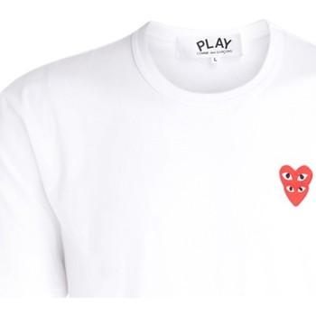 textil Hombre Camisetas manga corta Comme Des Garcons Camiseta para hombre  blanca con Blanco