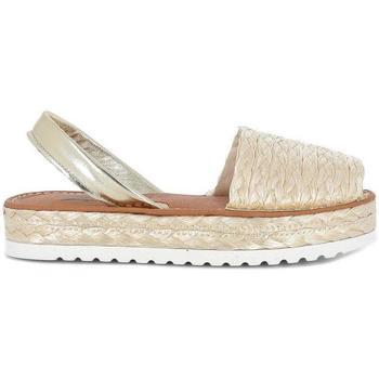 Zapatos Mujer Sandalias Blue Sandal 14435 Beige