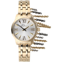 Relojes & Joyas Mujer Relojes analógicos Police PL16030BSG.04M, Quartz, 33mm, 3ATM Oro