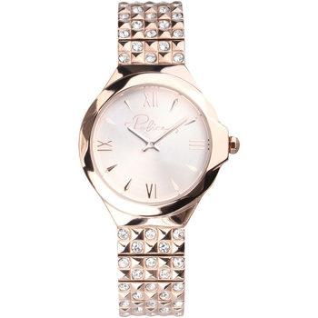 Relojes & Joyas Mujer Relojes analógicos Police PL16072BSR.32M, Quartz, 34mm, 3ATM Oro