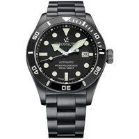 Relojes & Joyas Hombre Relojes analógicos Aeronautec ANT-44075-04, Automatic, 44mm, 50ATM Negro