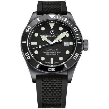 Relojes & Joyas Hombre Relojes analógicos Aeronautec ANT-44075-05, Automatic, 44mm, 50ATM Negro