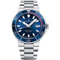Relojes & Joyas Hombre Relojes analógicos Aeronautec ANT-44086-02, Automatic, 43mm, 20ATM Plata