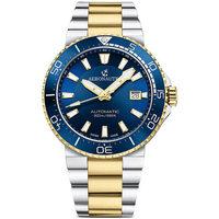 Relojes & Joyas Hombre Relojes analógicos Aeronautec ANT-44086-03, Automatic, 43mm, 20ATM Oro