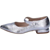 Zapatos Mujer Bailarinas-manoletinas Luni BH95 Plata