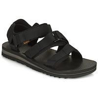 Zapatos Hombre Sandalias Teva M Cross Strap Trail BLACK Negro