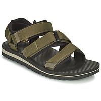 Zapatos Hombre Sandalias Teva M Cross Strap Trail DARK OLIVE Kaki