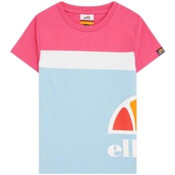 textil Niña Camisetas manga corta Ellesse S4E08608 Azul